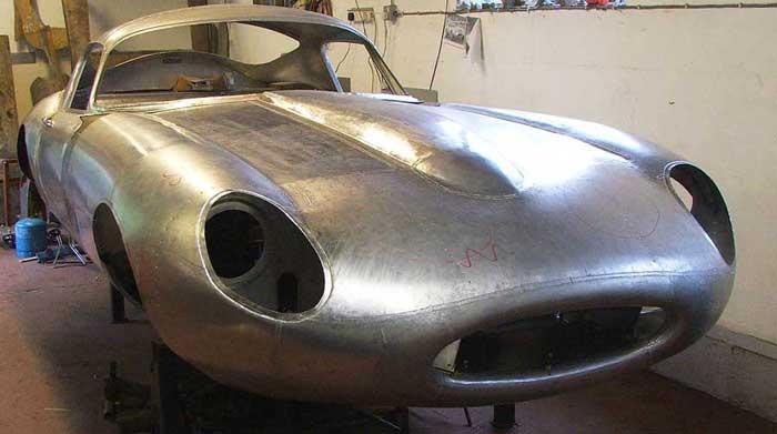 Car Made In Aluminum : Cc coachwork restoration repair classic road and race